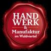 Logo der Initiative Handwerk und Manufaktur im Waldviertel