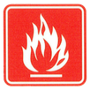 feuerfest nach BS 5852 Teil 1 & EN 1021-1