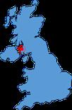 Schottlandkarte Westküste