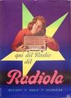 "Affiche : ""qui dit radio dit Radiola"""
