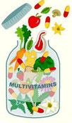 multivitaminas, complementos dietéticos, dieta, salud
