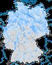 Karte zur Verbreitung der Tundrasaatgans (Anser serrirostris) im Winterhalbjahr.