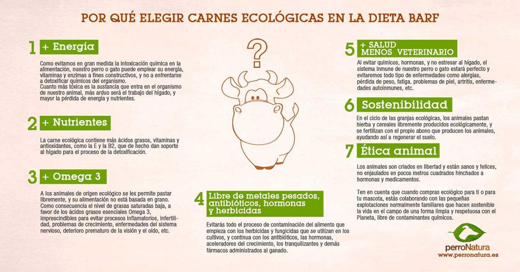 Dieta BARF ecológica