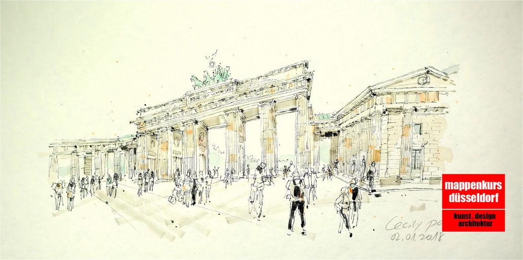 Mappenkurs Berlin, Mappenvorbereitung, Mappenvorbereitungskurs Berlin