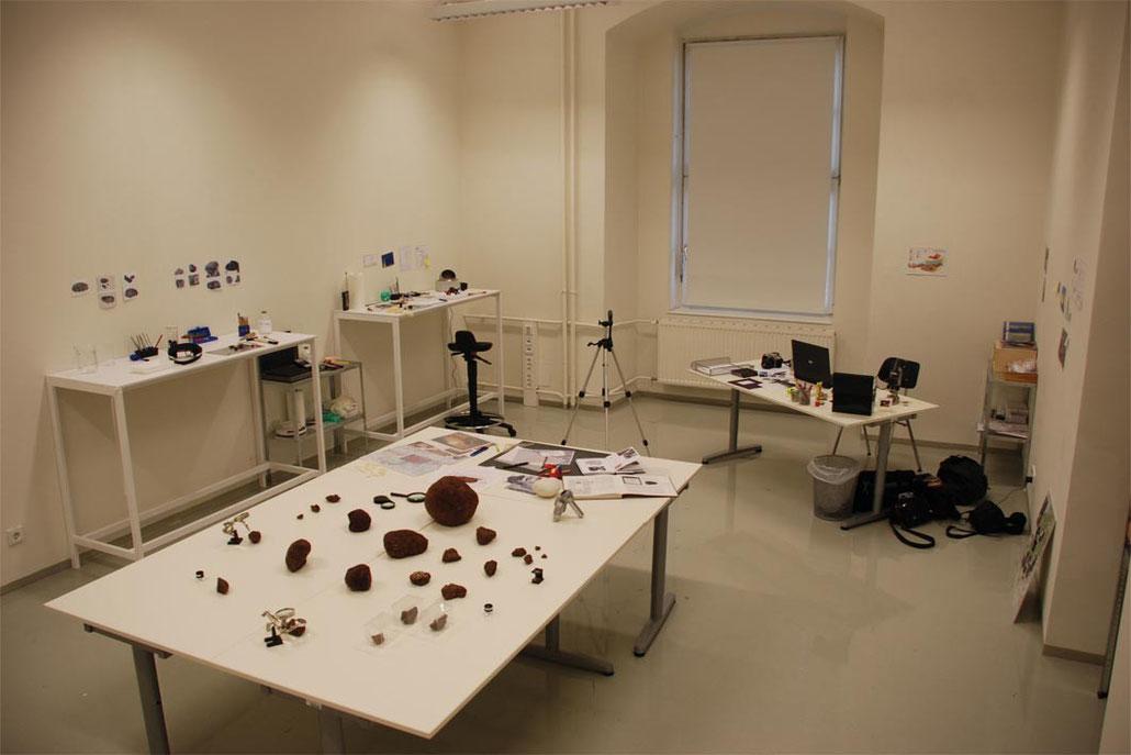 Ausstellungsansicht Kunstuniversität Linz, 2008