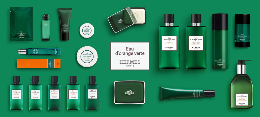 HERMES BATHROOM EAU D'ORANGE VERTE