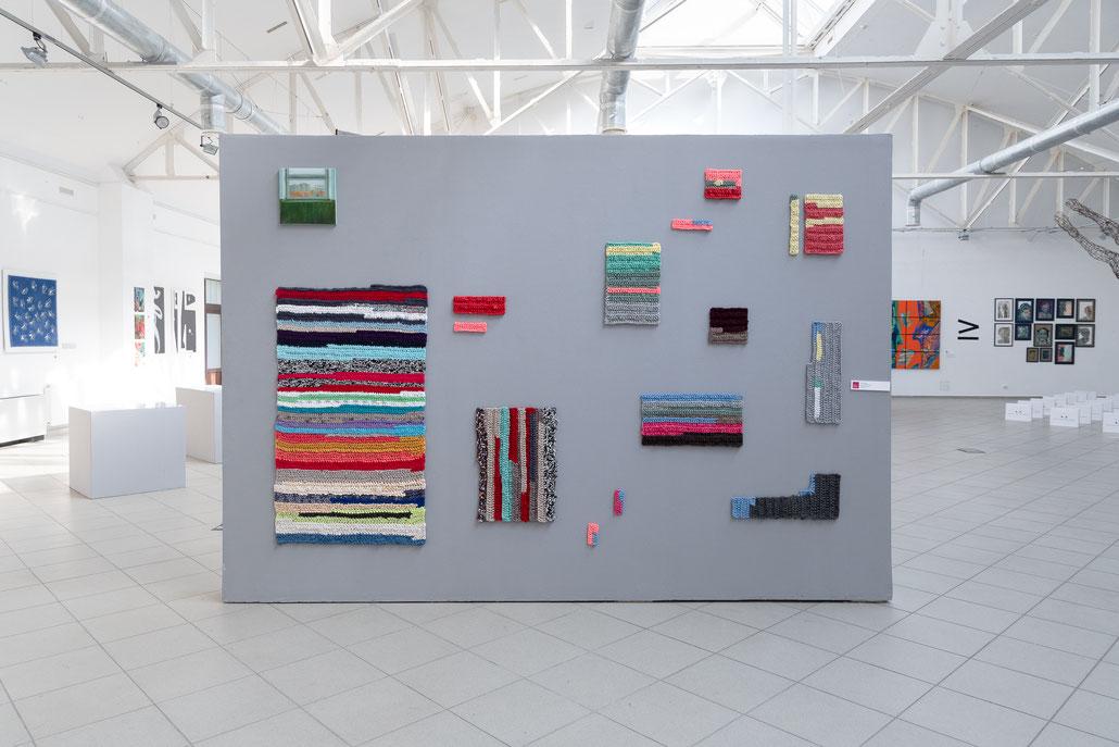 contemporary art, modern Art, artist Olga Drozd, Olga Drozd, art exhibition, textile art, new media, new generation, installation, art installation, new artists