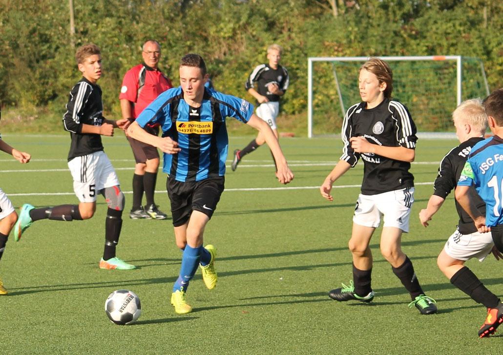 Thomas Benz gelang der Treffer zum zwischenzeitlichen 1:1. Foto: Jutta Trost