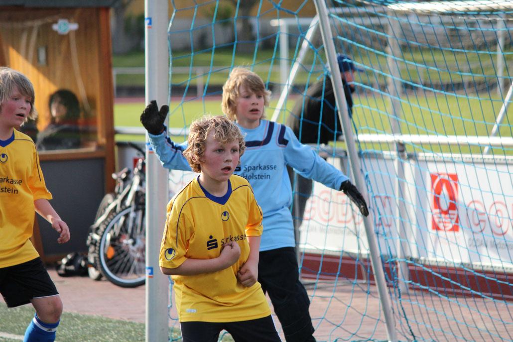 Garanten des Erfolges: Nils Rumpf, Marvin Paul und Sven Ove Westphal. Foto: R.Paul
