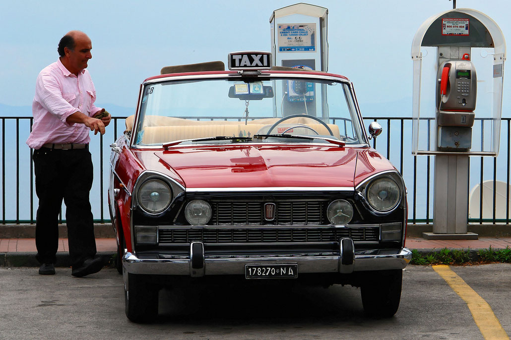 Taxi auf Capri