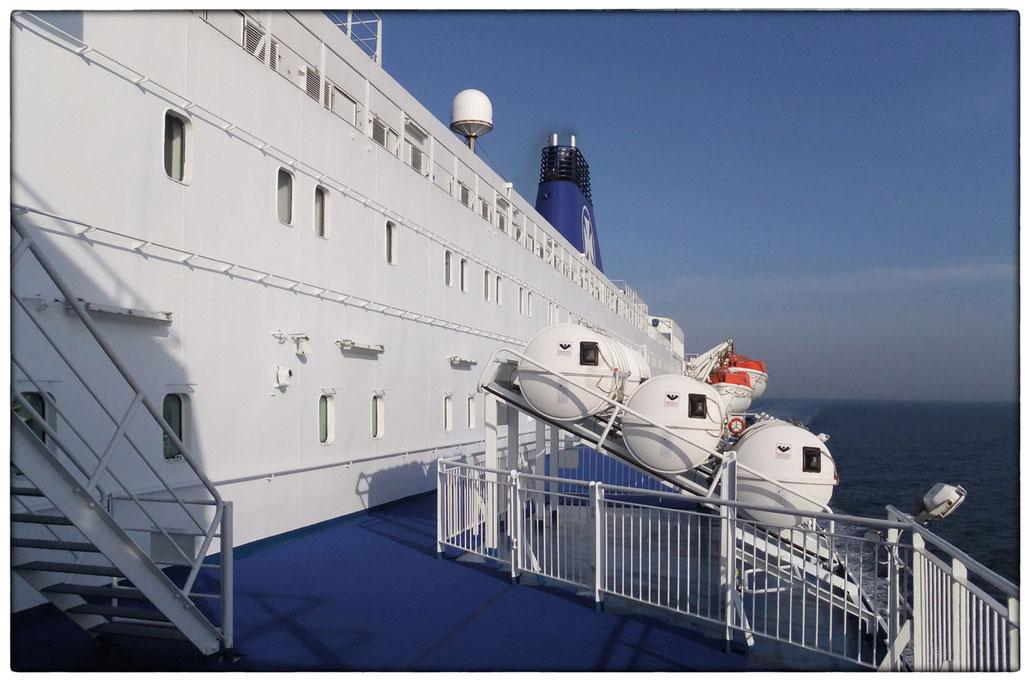 DFDS Fährschiff zwischen Ijmuiden und Newcastle upon Tyne