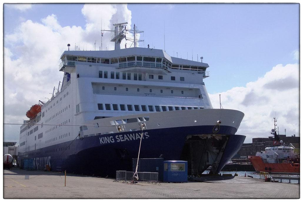 King Seaways im Hafen von Ijmuijden