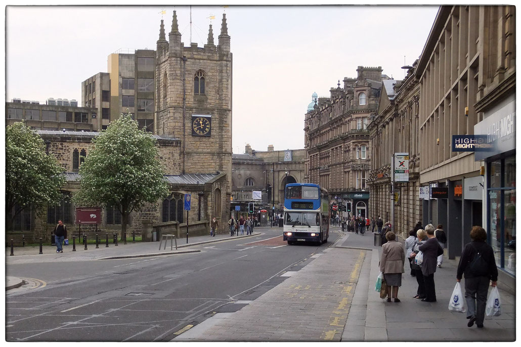 Newcastle upon Tyne - St. John The Baptist Church