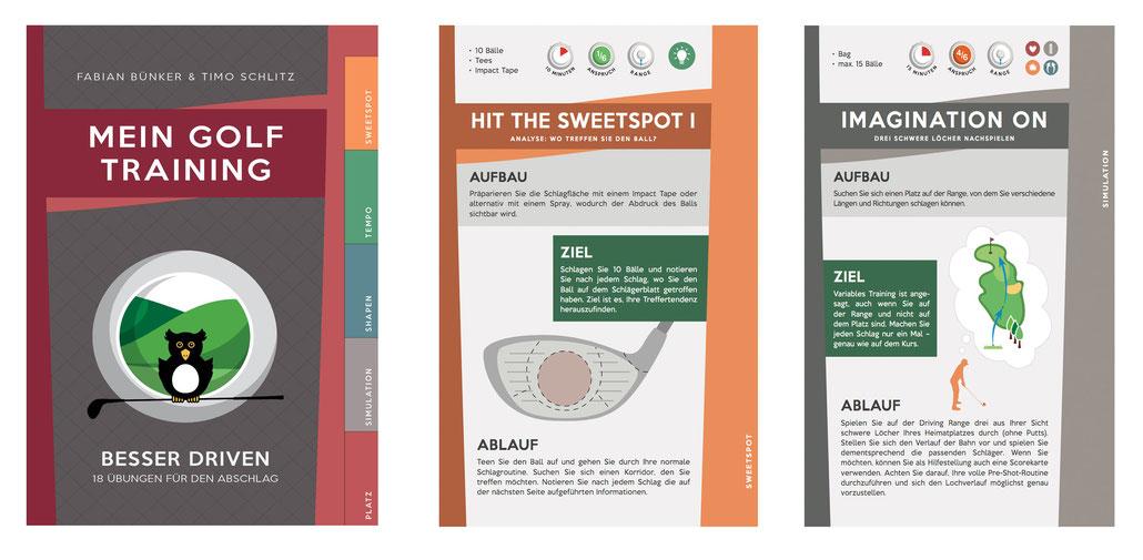 Das neue Golf-Buch von Timo Schlitz: Mein Golf Training: Besser Driven - 18 Übungen für den Abschlag