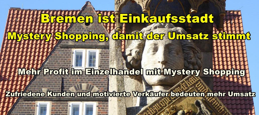 Panorama Bremen. Mystery Shopping damit der Umsatz stimmt