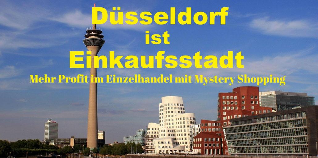 Panorama Düsseldorf. Mystery Shopping damit der Umsatz stimmt