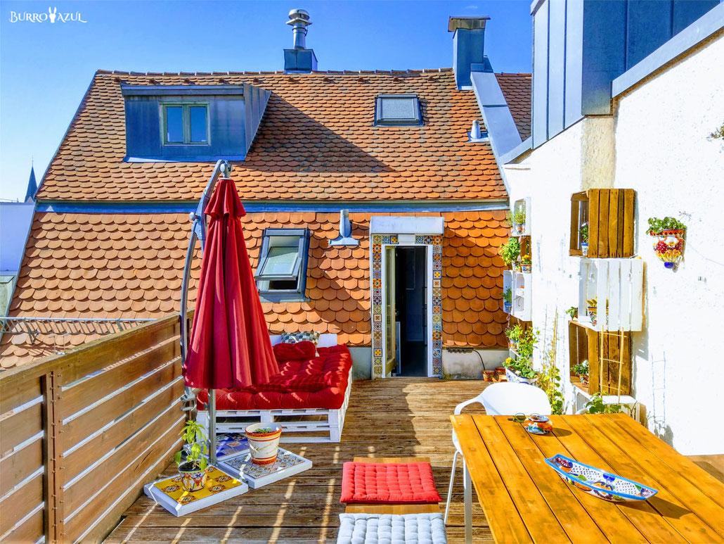 Dekoidee und Inspiration für Balkon und Garten.