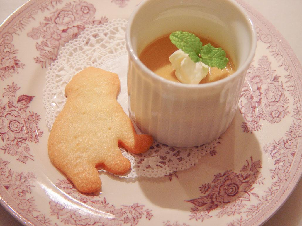 pot de crème au thé  ポ・ド・テ