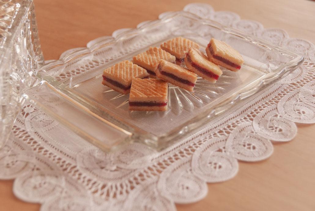 Red Rhubarb Soft Cookies, Fleur*Fleur*