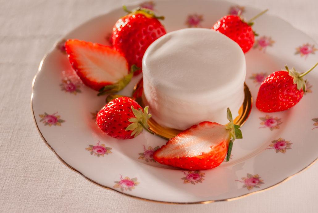 φ5cm Strawberry Shortcake, Fleur*Fleur*