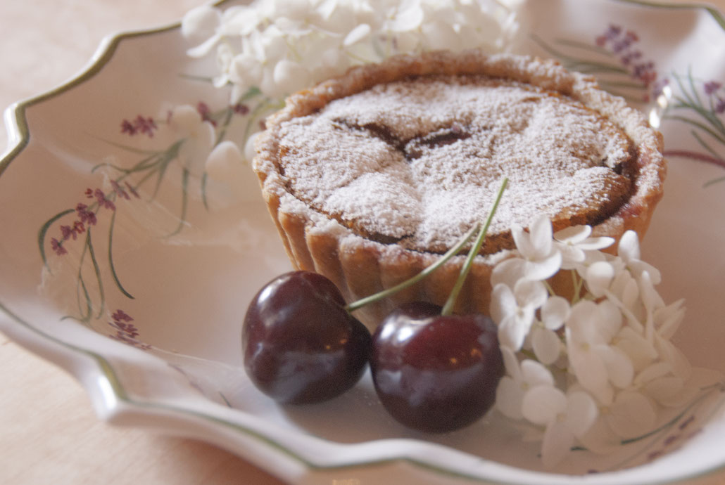 caramal tarte aux cerises  チェリーのキャラメルタルト