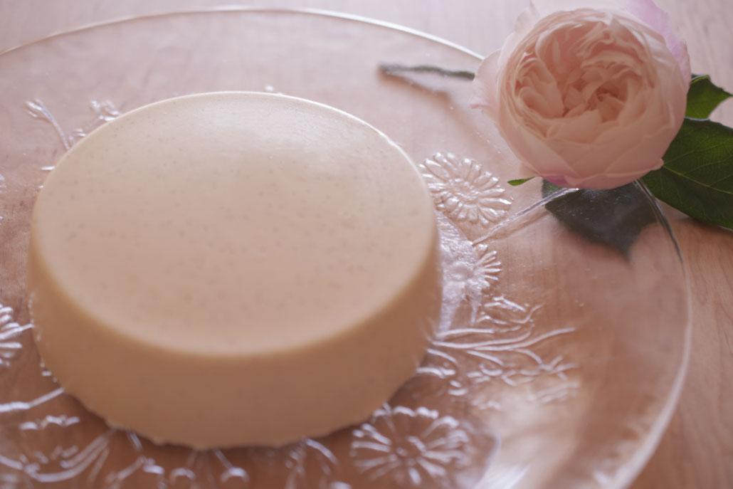 bavarois à la vanille + Biscuits à la cuillère 1+2  ババロア + ビスキュイ1+2