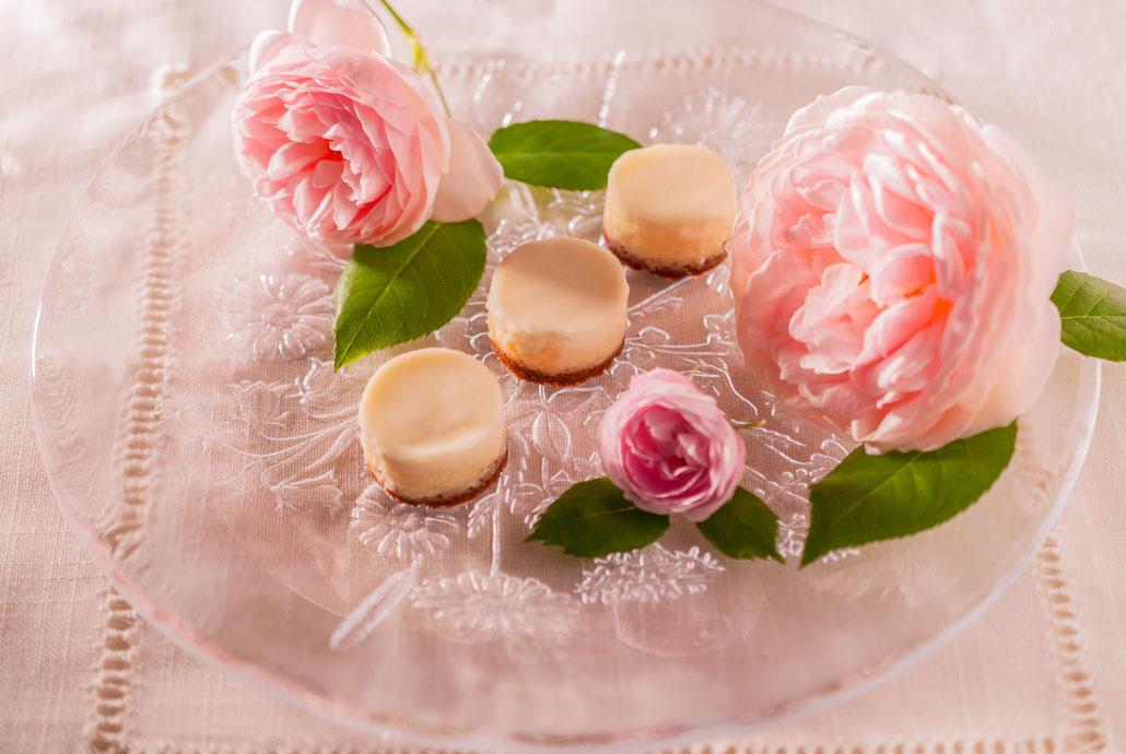 Sour Cream Top Cheesecake S, φ3.2cm, Fleur*Fleur*