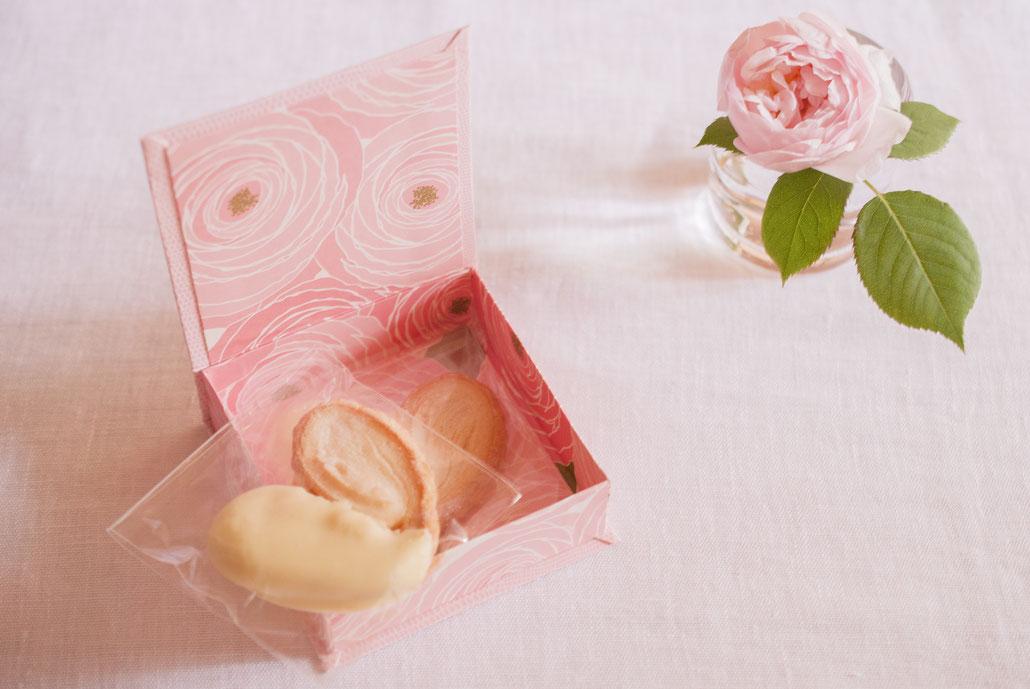 palmier chocolat with Fleur*Fleur* SS box, Fleur*Fleur*