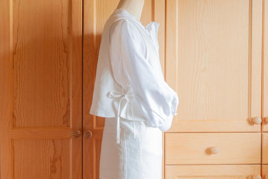 apron dress set C (#007 + #008) for sweets, Fleur*Fleur*
