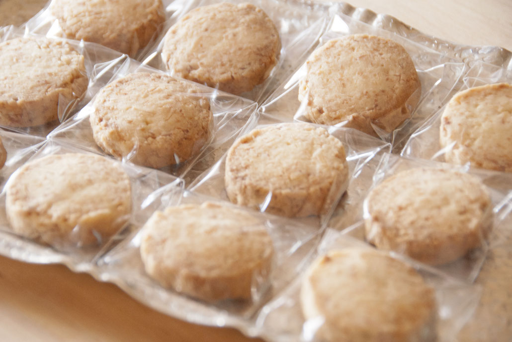 cookies à la noix de coco  ココナッツクッキー