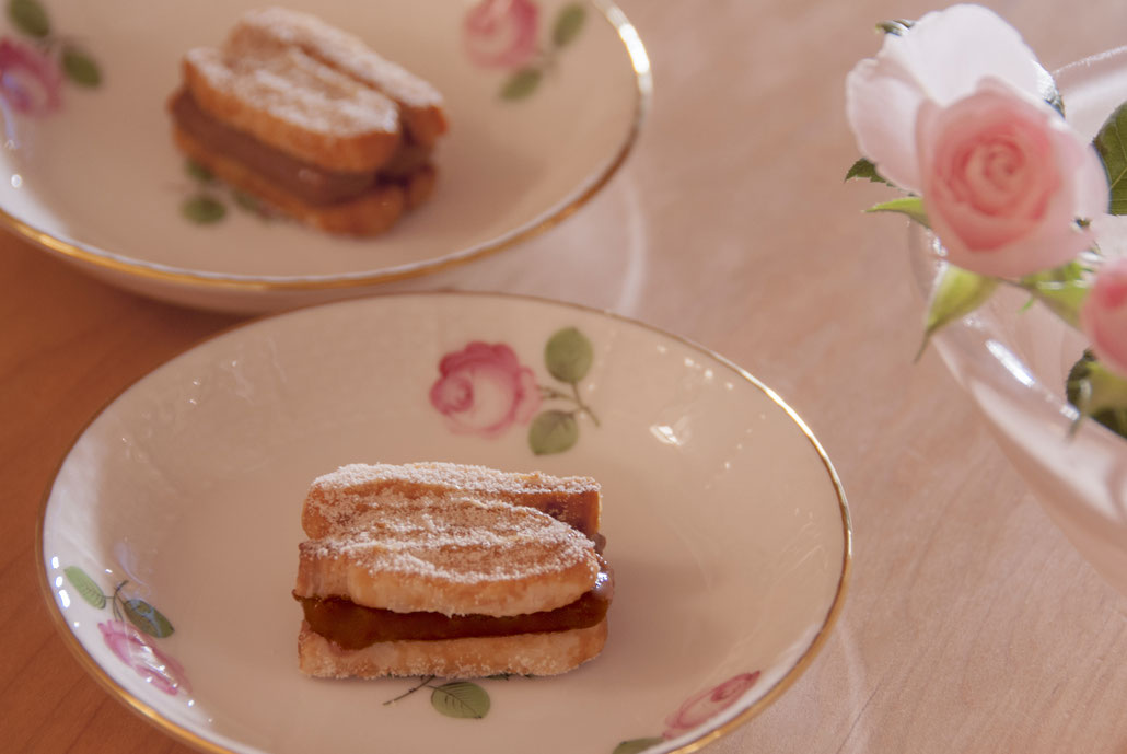 palmi-millfeui au chocolat, Fleur*Fleur*