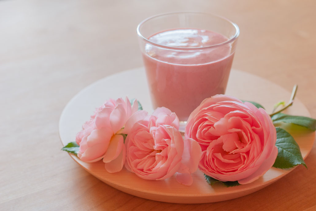 Raspberry Yogurt Smoothie with Blendtec, Fleur*Fleur*, fleurfleur