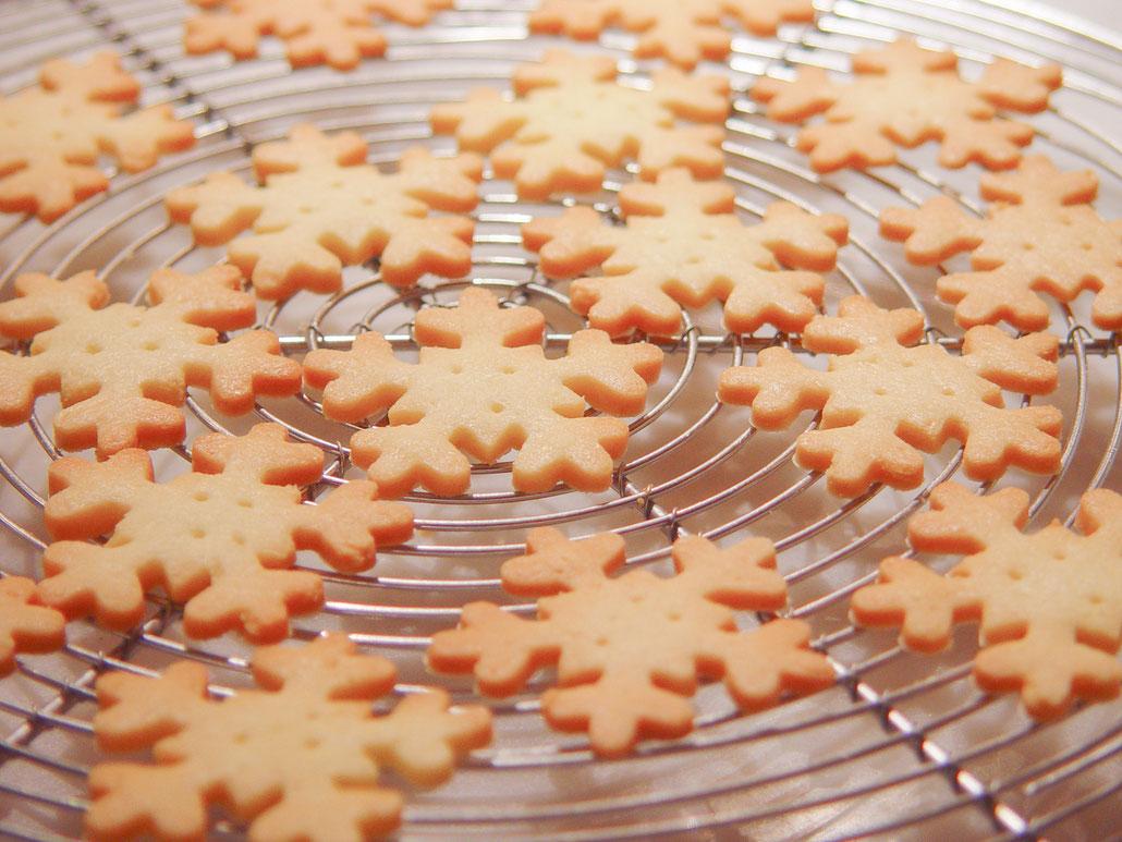 pâtes sucrées  パート・シュクレA 薄焼き型抜きクッキー