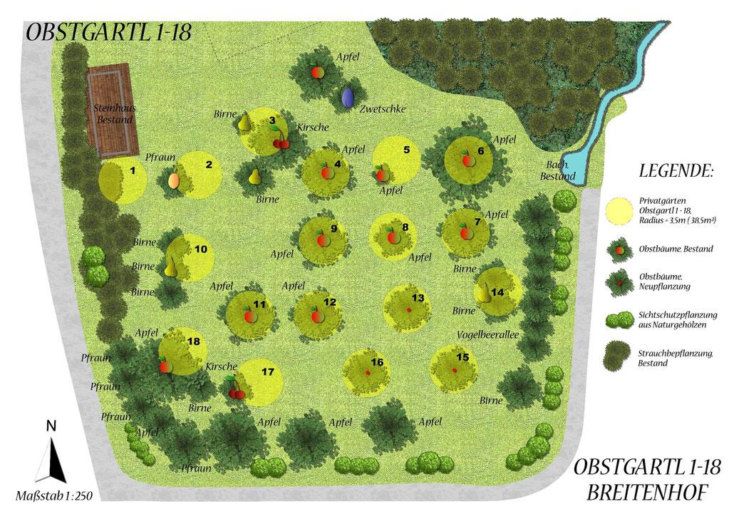 Planung & Landschaftsdesign  DI   Sandra Hatze - 18 Plätze stehen zur Auswahl...
