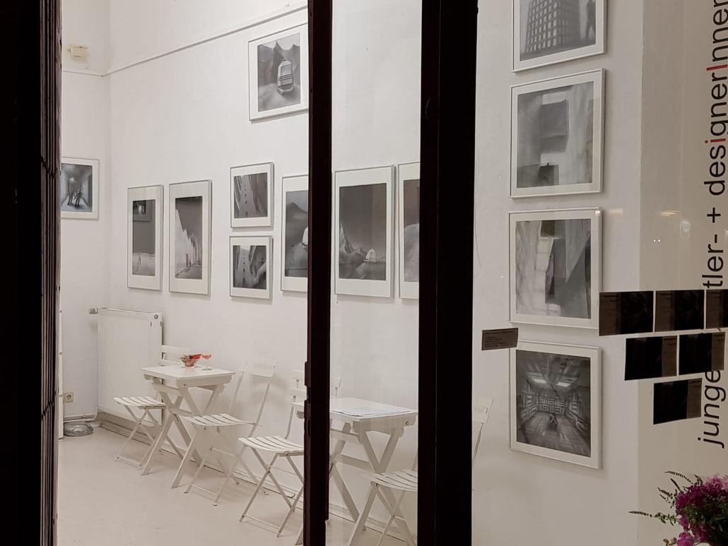 galerie für junge künstler- + designerinnen berlin, Foto: Bejmen Kadrija, 2018