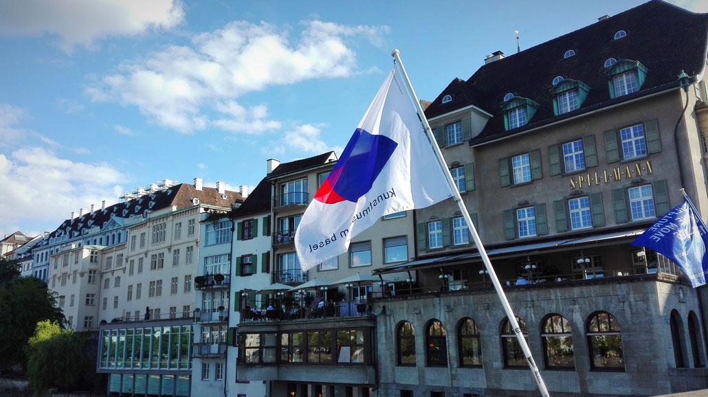 Basel Rhein rheinbrücke Schweiz Switzerland