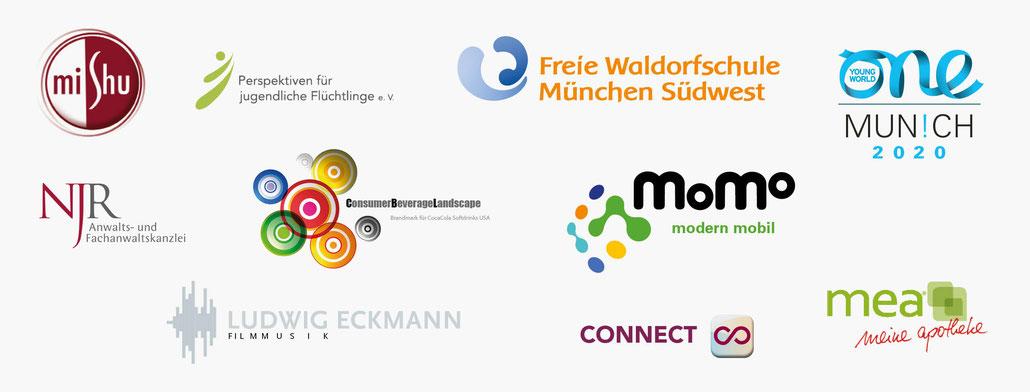 Beispiele für Logoentwicklung