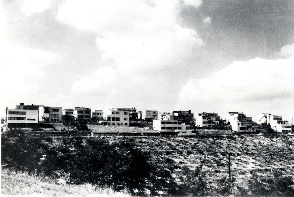 """Werkbundsiedlung """"Baba"""" des Tschechoslowakischen Werkbunds. Prag 1928-1932"""