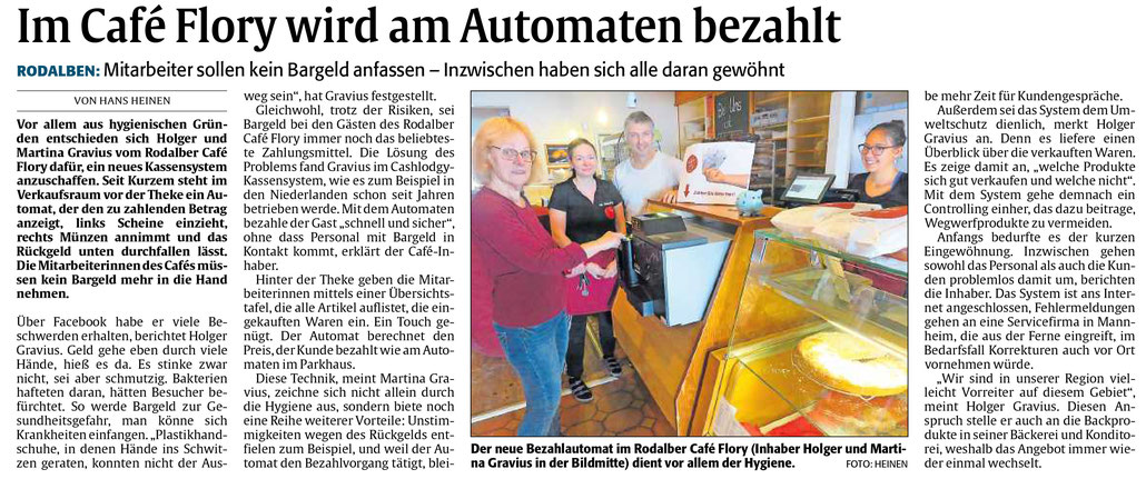 Quelle Rheinpfalz - Pirmasenser Rundschau vom  18.10.2019