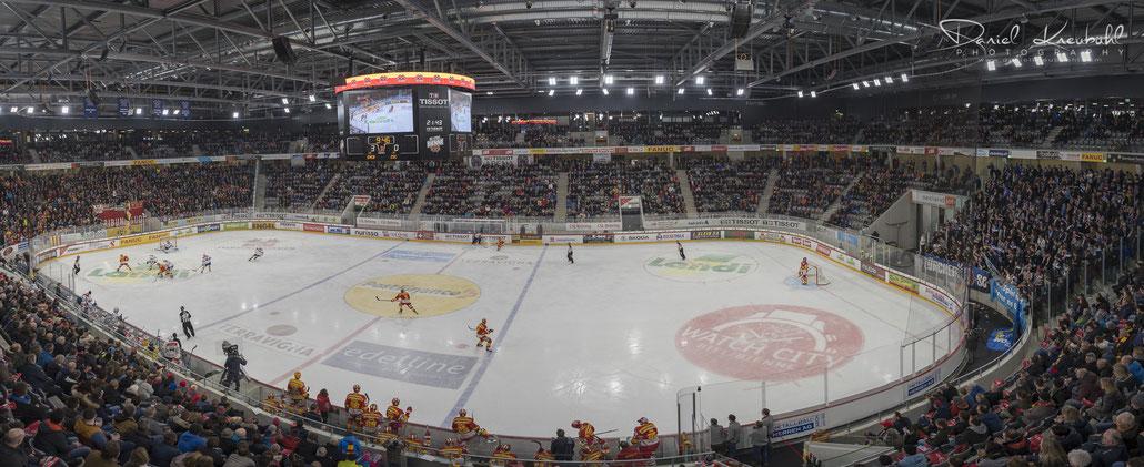 Tissot Arena, EHC Biel-Bienne, ZSC Lions, Eishockey, www.danielkneubuehl.com, Photographer/Fotograf: Daniel Kneubühl