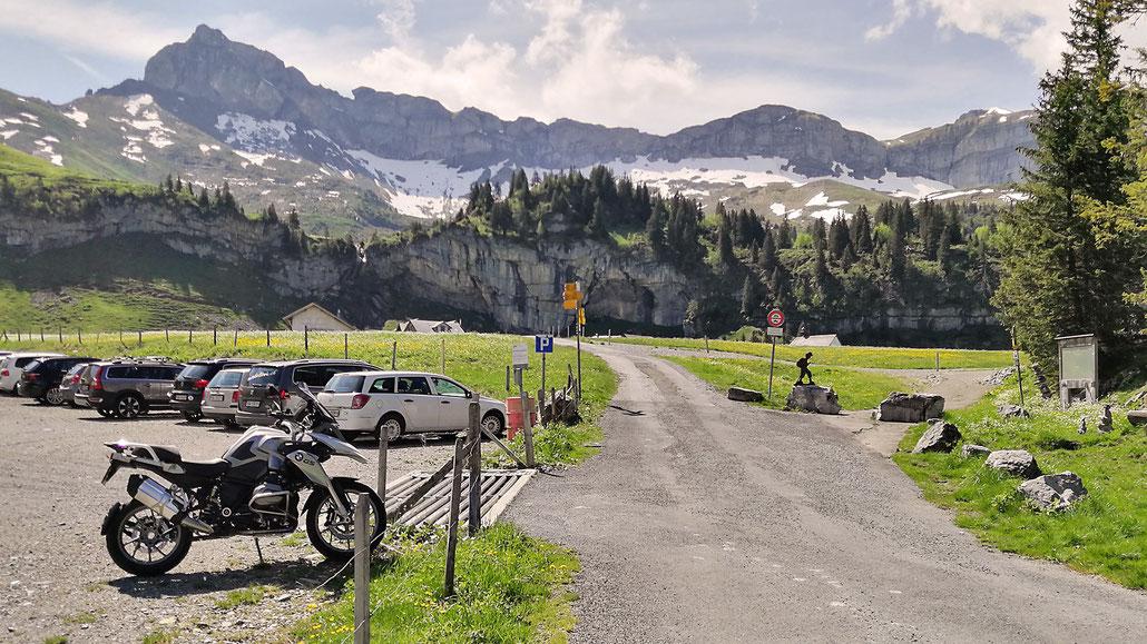 1650 - CH - Älggi-Alp (geografischer Mittelpunkt der Schweiz) © Pässe.Info