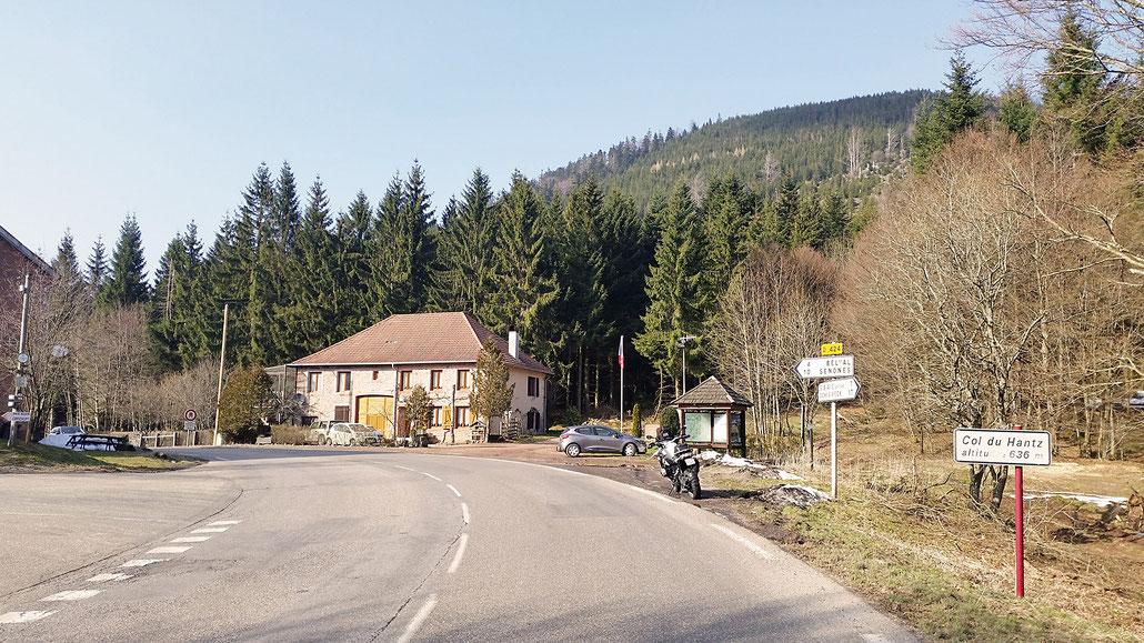 0636 - F - Col du Hantz © Pässe.Info