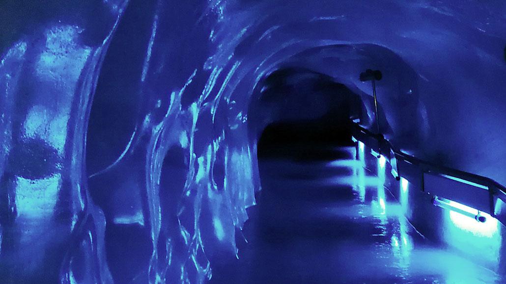 Gletschergrotte Titlis © Pässe.Info