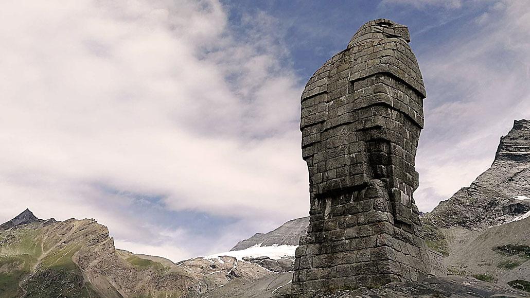 Simplon-Adler auf Simplonpasshöhe © Pässe.Info