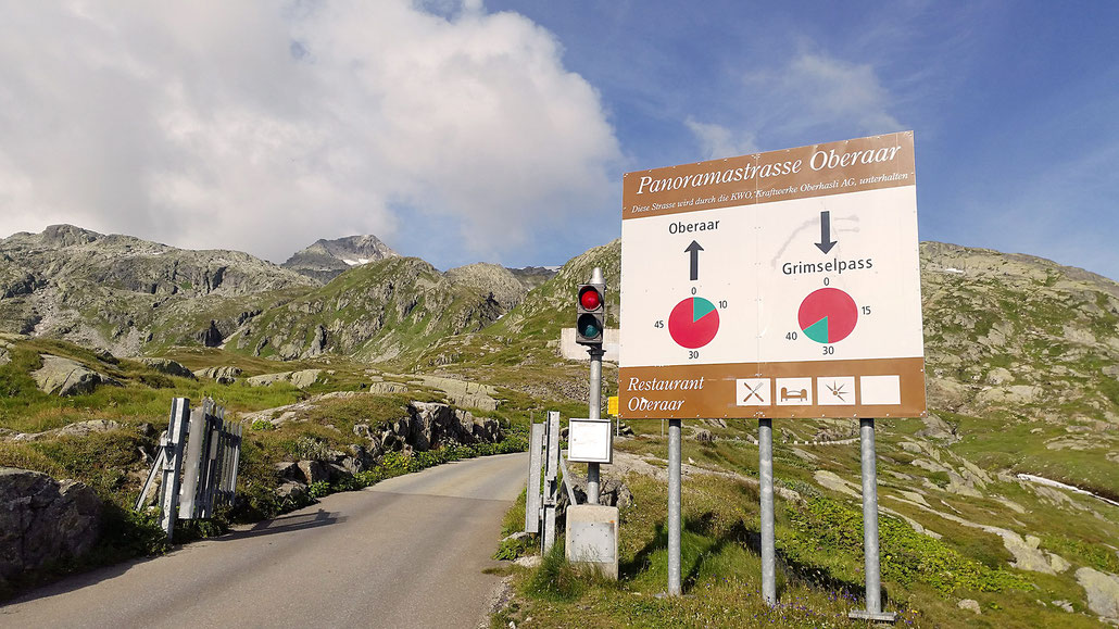 Grimsel-Pass Panoramastrasse Oberaar © Pässe.Info