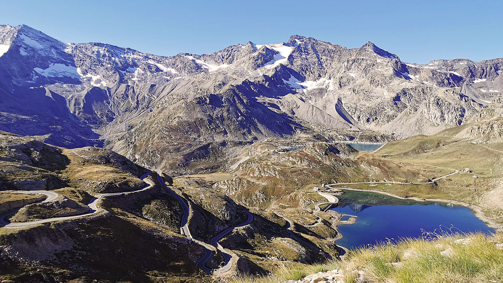 Panorama Colle del Nivolet © Pässe.Info