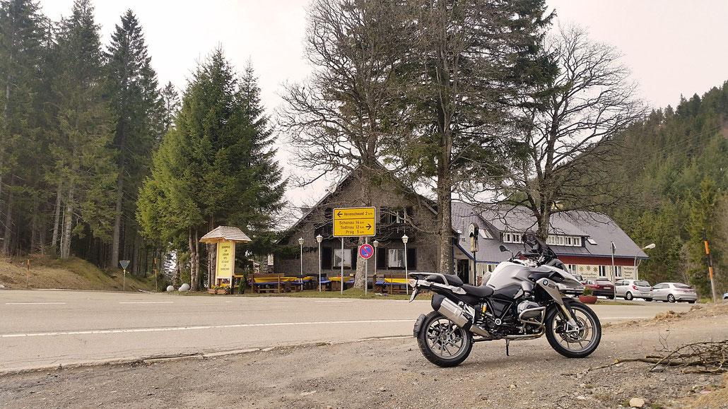 1079 - D - Weissenbachsattel (Hochkopfhaus) © Pässe.Info