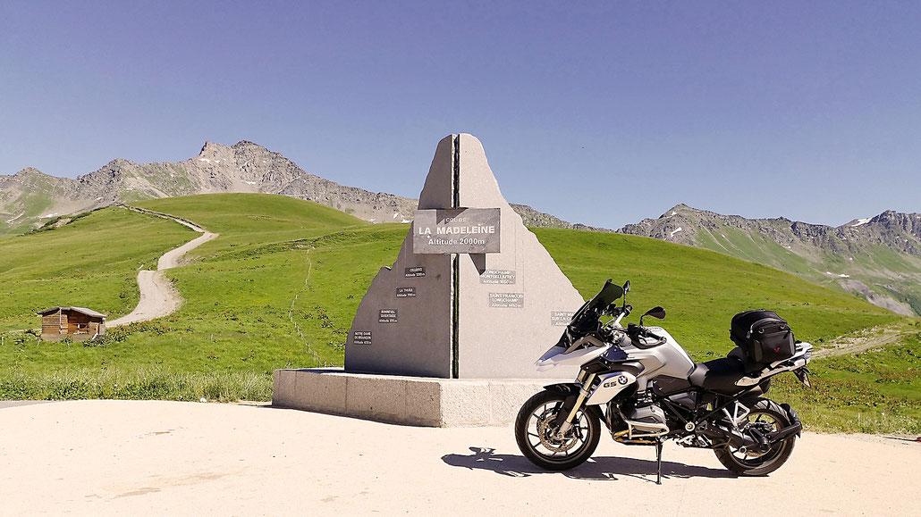 2000 - F - Col de la Madeleine © Pässe.Info