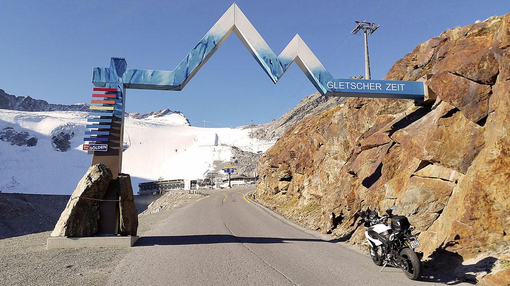 Ötztaler Gletscherstrasse © Pässe.Info
