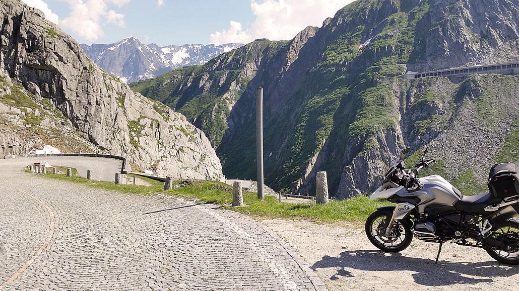 Gotthard-Pass Tremola © Pässe.Info